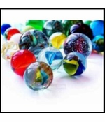 Deluxe 16 Marbles Playset With Shooter Marble