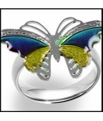 Magic Butterfly Mood Ring