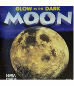 """Large 16"""" Glow in the Dark 3-D Moon"""