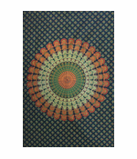 "Peacock Tapestry 60"" x 90"""