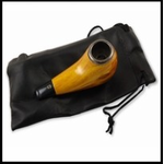 Wood Grain Tobacco Smoking Pipe With Case