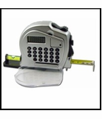 Tape Measure Calculator with Level