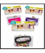 DIY Tattoo Choker Necklace Kit with Beads and Charms