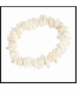 Authentic Puka Shell Stretch Bracelet/Anklet