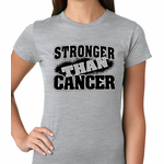 Stronger Than Cancer Women's T-shirt