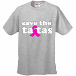 Save The Ta Tas Breast Cancer Awareness Men's T-Shirt