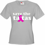 Save The Ta Tas Breast Cancer Awareness Women's T-Shirt