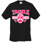 Tackle Breast Cancer Men's T-Shirt