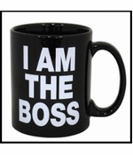 I Am The Boss Giant 22oz. Coffee Mug