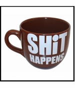 SHiT HAPPENS Giant 22oz. Coffee Mug