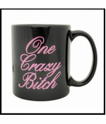 One Crazy Bitch Giant 22oz. Coffee Mug