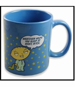 "Family Guy Stewie ""Whatever Helps You Sleep"" Coffee Mug"