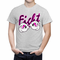 Cartoon Hands Fight Breast Cancer Men's T-Shirt
