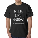 RIP Jon Snow - The North Remembers Men's T-shirt