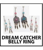 Dream Catcher Belly Ring (Assorted)