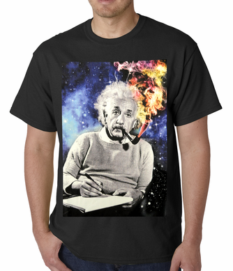 Einstein Smoke Men's T-shirt