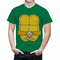 Turtle Costume with Letter Buckle Men's T-Shirt