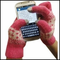Cell Phone Texting Gloves Hot Pink