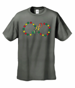 420 Infinity Pot Leaves T-Shirt