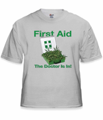 "First Aid ""Pot Stash"" T-Shirt"