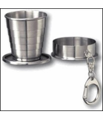 Collapsible Keychain Shot Glass