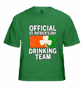 Official St. Patrick's Day Drinking Team Men's T-Shirt