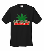 Pot Cheaper Than Obamacare Men's T-Shirt
