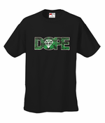 Pot Leaf Dope Diamond Men's T-Shirt