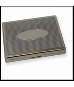 Classic Silver Cigarette Case (For Regular Size & 100's)