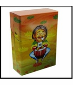 Rasta Design Full Pack Cigarette Box (For Regular Size Cigarettes)