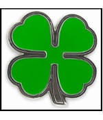 Lucky Shamrock Buckle With FREE Leather Belt