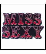 Miss Sexy Belt Buckle With FREE Leather Belt