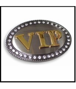 VIP Belt Buckle With FREE Leather Belt