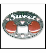 Sweet Bottle Opener Belt Buckle With FREE Belt