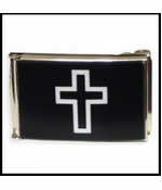 Cross Buckle With Free Belt
