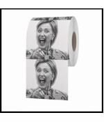Hillary Clinton Laughing Toilet Paper