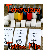 Temporary Tattoo Kits