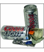 Coors Diversion Can Safe