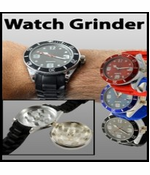 2-in-one Watch with Secret Hidden Herb and Spice Grinder