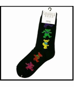 Official The Grateful Dead Dancing Bears Socks