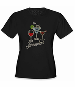 It's 5 o'clock Somewhere Rhinestone T-Shirt