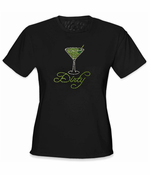 Dirty Martini Rhinestone Women's T-Shirt