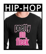 Pop and Hip Hop Music Thermal Shirts