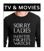 TV and Movie Thermal Shirts