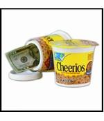 Cheerios Cereal Diversion Safe