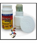 Tylenol 100 Caplet Diversion Safe