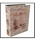 Diversion Safe - Da Vinci Journal Book Safe (Small)