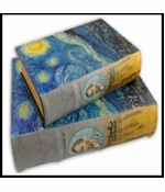 Starry Night Lost Journal Book Diversion Safe