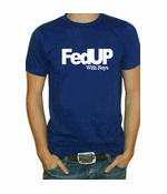 FedUP With Boys Men's T-Shirt