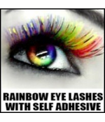 Rainbow Eye Lashes